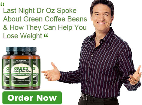Green Coffee Beans DR OZ'