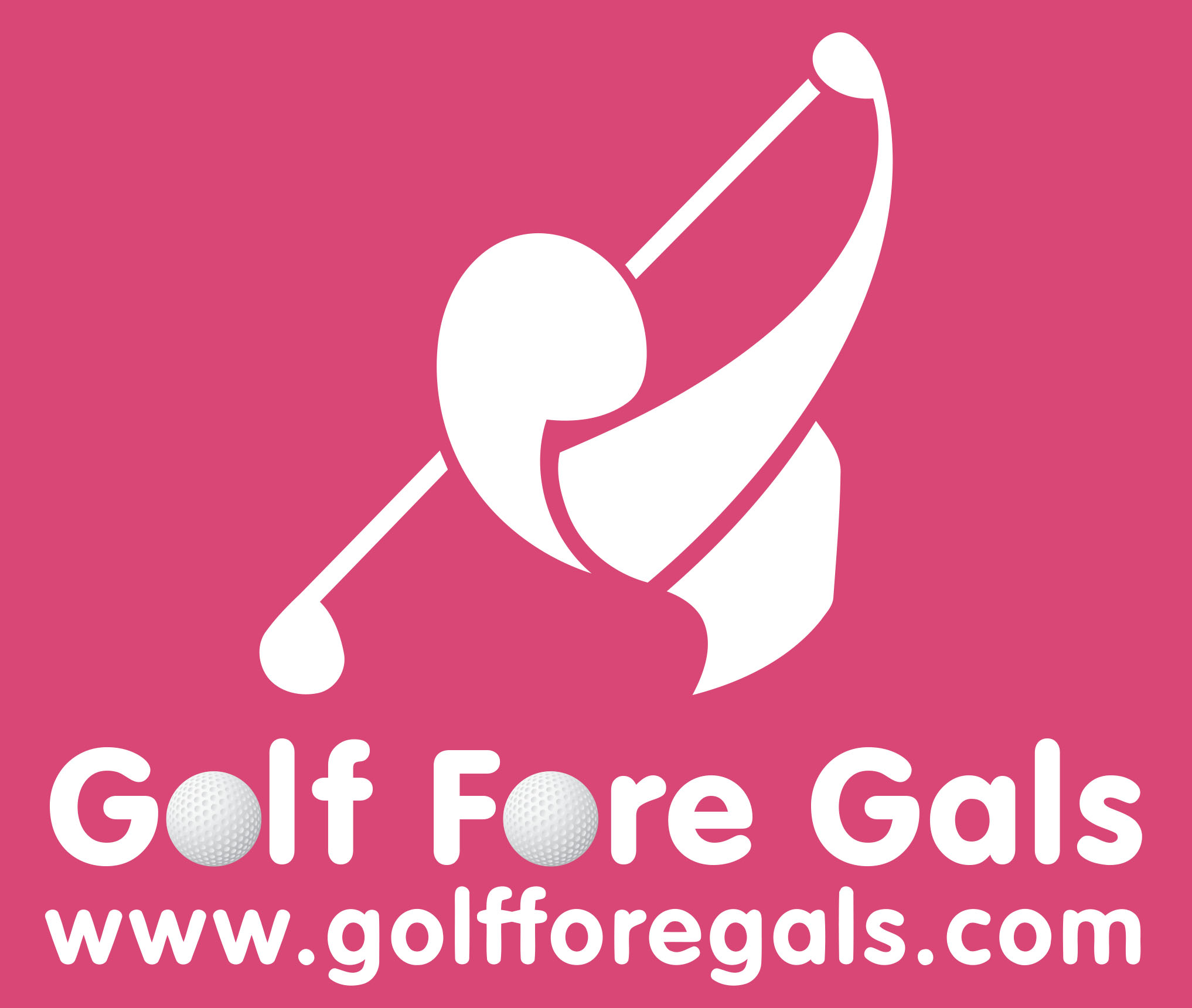 Golf Fore Gals Logo