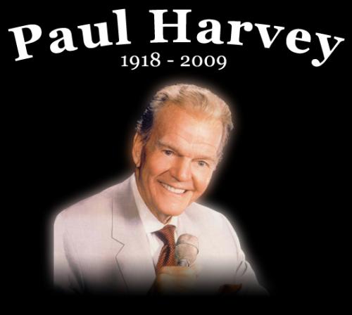 Paul Harvey Sr'