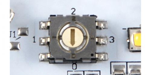 LED Brightness Switch on Light Boltz Engine'