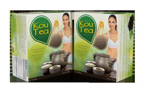 Kou Tea Product Render'