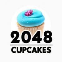 Play 2048 Cupcakes Logo