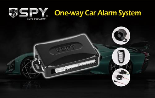 SPY One-way car alarm system'