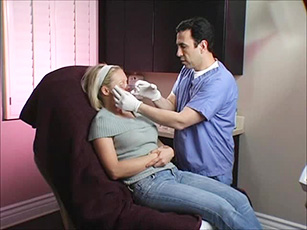 Dr. Simon Ourian performing Botox injection treatment'