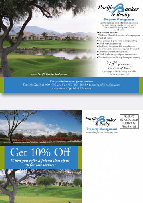 Real Estate Postcard'