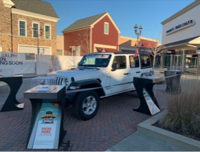 Gloucester Premium Outlets Win a Gary Barbera Jeep Wrangler'