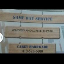 window & screen repairs'