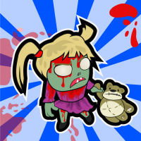 Zombie Girl - My Little Zombie Apocalypse