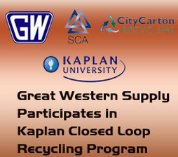 Great Western Supply Closed Loop Recycling Program'
