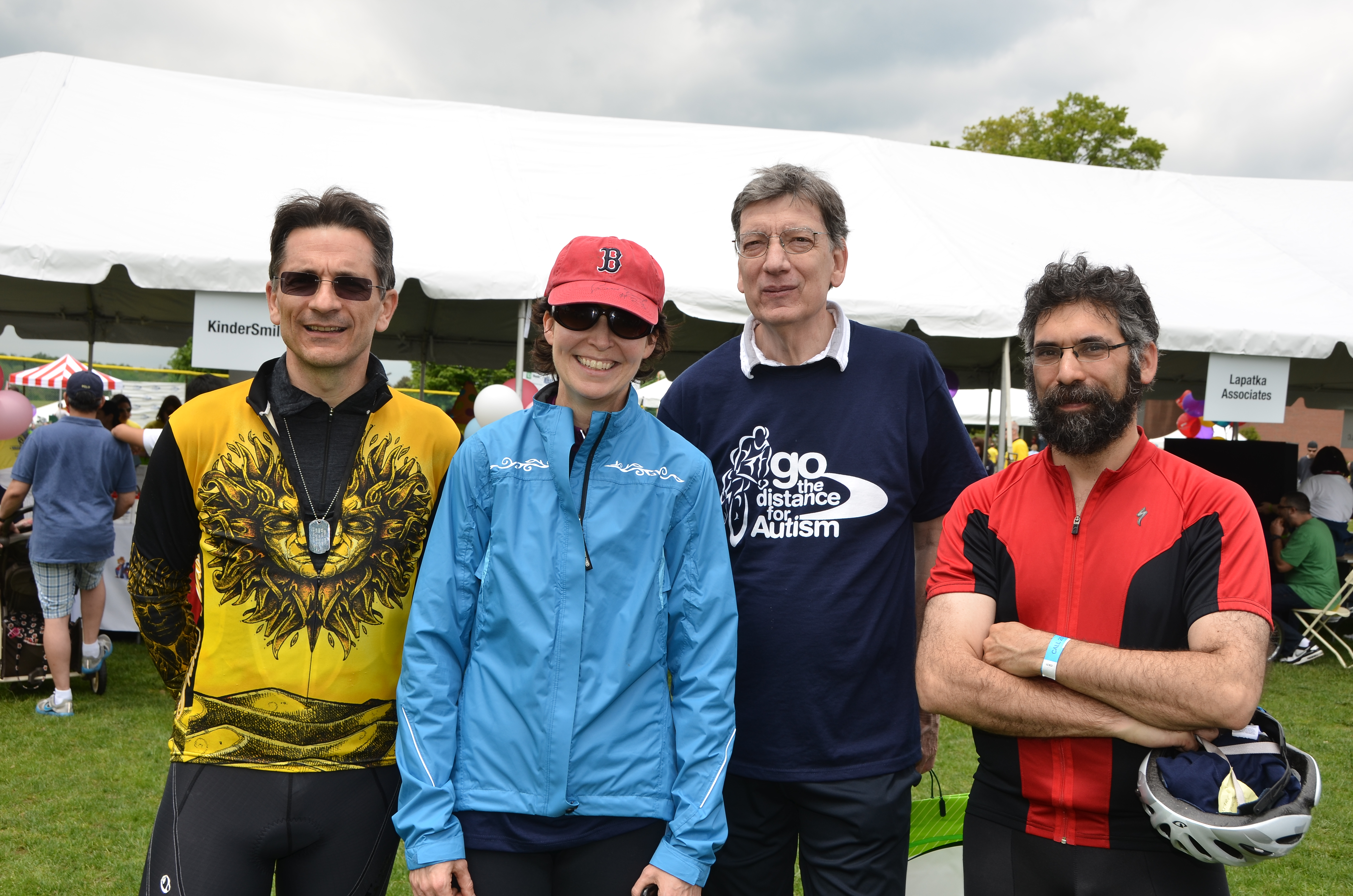 Go the Distance for Autism Bike Event