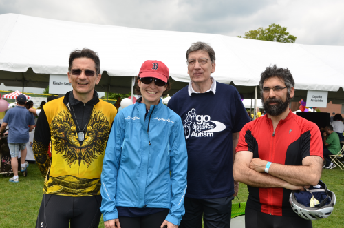 Go the Distance for Autism Bike Event'