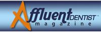 Affluent Dentist Magazine a division of Affluent Dentist, Inc. Logo