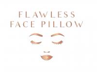 Flawless Face Pillow Logo