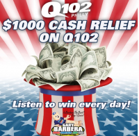 Gary Barbera Cares Partners With q102 to Give $1,000 During