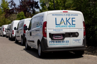 Lake Appliance Repair Service Trucks