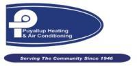 Puyallup Heating & Air Conditioning Logo