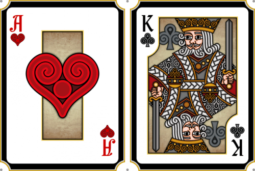 Pippoglyph II Playing Cards'