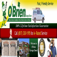 O'Brien Garage Door Logo