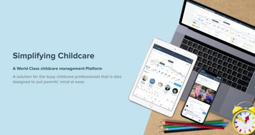 software voor het bijwonen van kinderopvang'