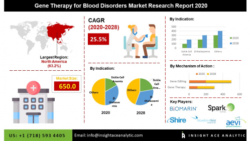 Gene Therapy for Blood Disorders Market To Record An Exponen'