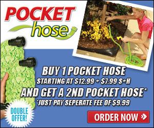 Pocket Hose Expandable Hose'