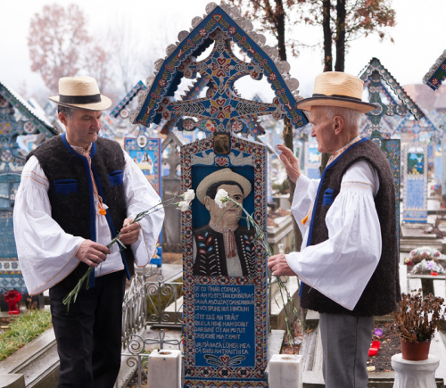 The Merry Cemetery'