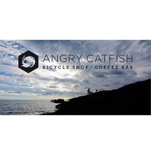 Company Logo For Angry Catfish Bicycle and Coffee Bar'