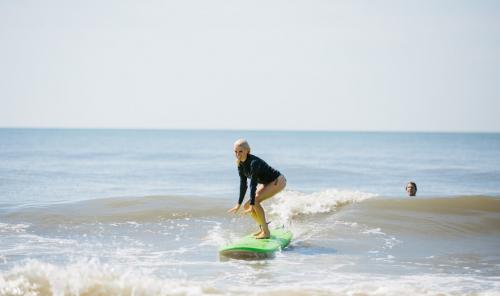 Folly Beach Surfing'