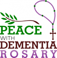 The Peace with Dementia Rosary Logo