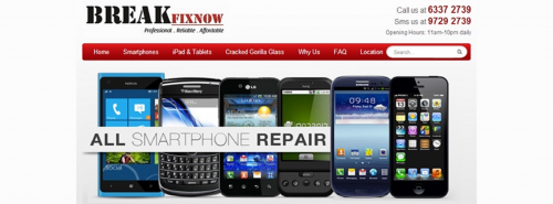 Company Logo For iPhone Repair Singapore - BreakFixNow'