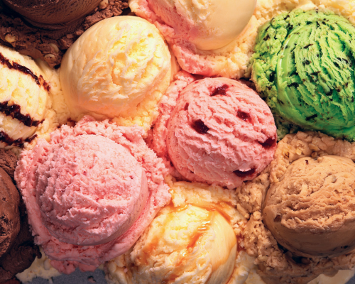 Ice Cream Market'