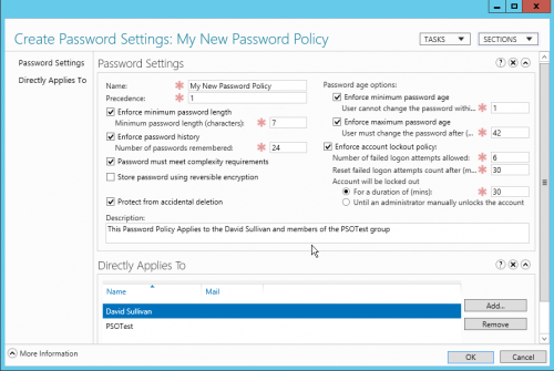 Password Policy Enforcement Tool'