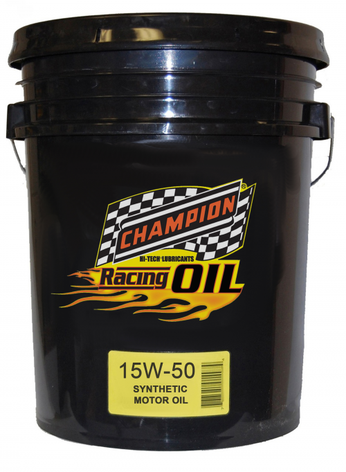 Champion 15w-50 Full Synthetic Racing Oil'
