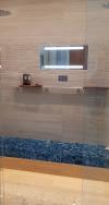 ShowerLite with Blue Bench B'