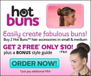 Hot Buns Hair Buns'