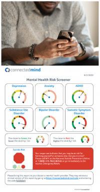 Connected Mind - mental health screening and assessments