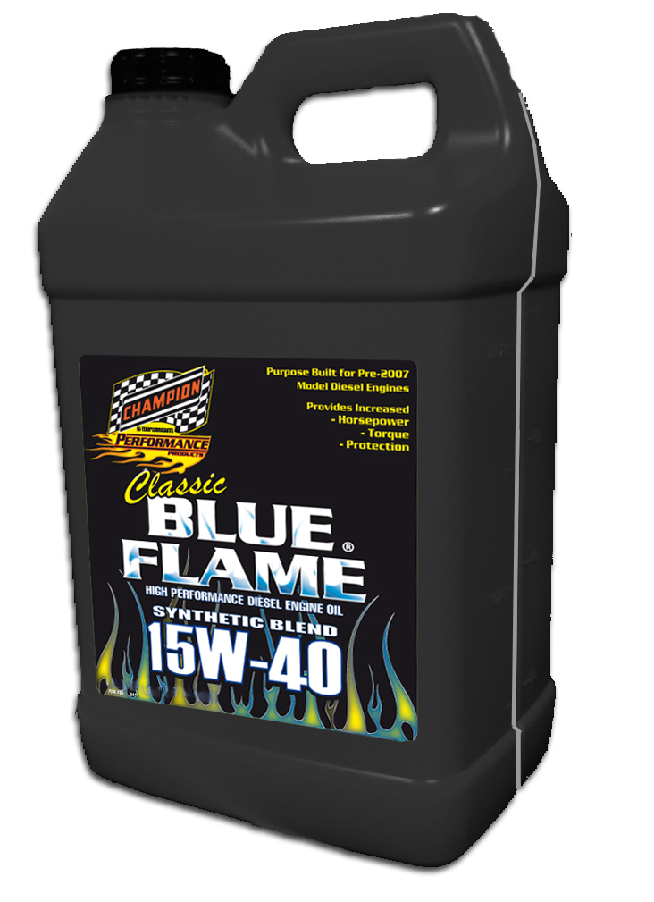 "Champion ""Classic"" Blue Flame Diesel Motor Oil"
