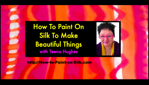 how to paint on silk'