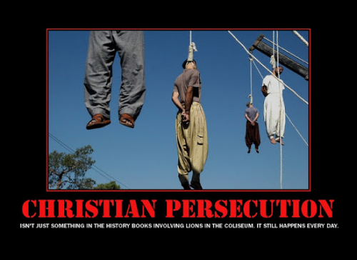 Persecution of Christians Must Stop'