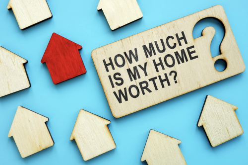 NETREALTY offers detailed home valuations through their app.'