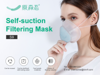 YuanSenTai KN95 Silicone Mask won the green pass of many cou