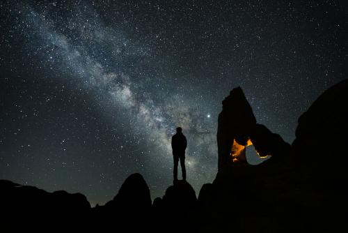 Gregg Jaden Astro Milky Way Arch 2'