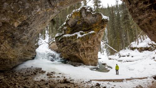 Gregg Jaden Banff Canada Johnston Canyon'