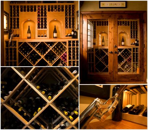 Levine Custom Wine Cellar Project'