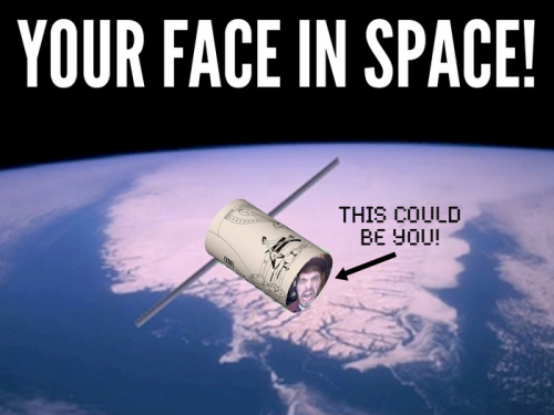 Your Face in Space - A Quest to Save Earth'