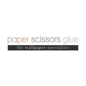 Company Logo For Paper Scissors Glue'