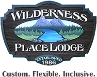 Company Logo For Wilderness Place Guides Lodges and Cabins'