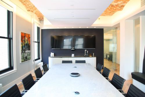 Raven Capital conference room'