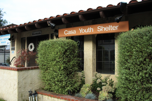 Casa Youth Shelter exterior'