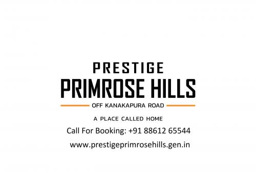 Prestige Kanakapura Primrose Hills Bangalore'